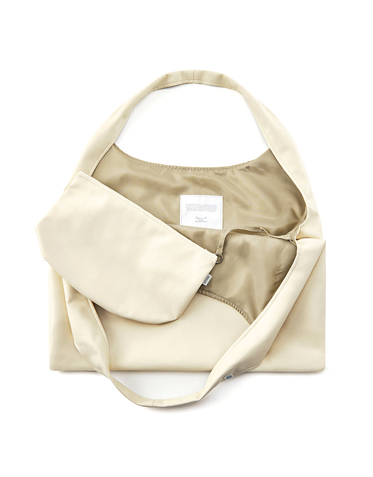 coffee bag-shoulder (ivory)
