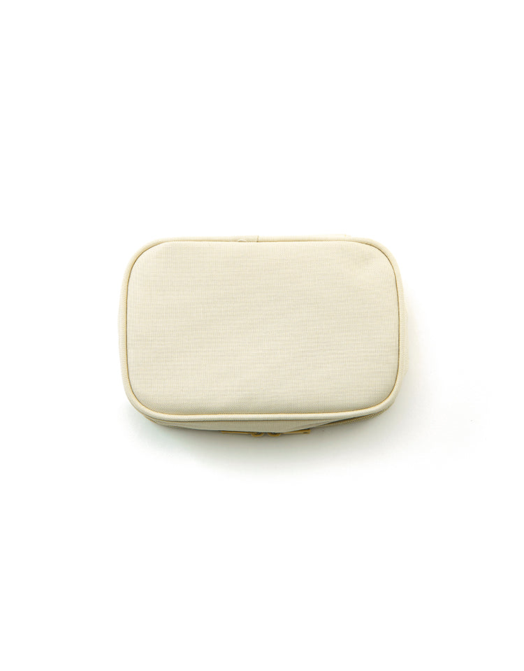cosmetic pouch (beige)