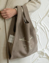 coffee bag (dusty gray)