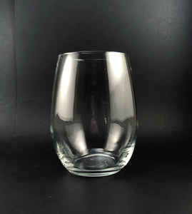 CLE Ohio Stemless Wine, Rocks or Beer Can Glass