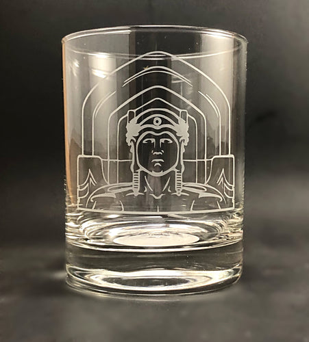 Cleveland Guardians of Traffic Rocks Glass