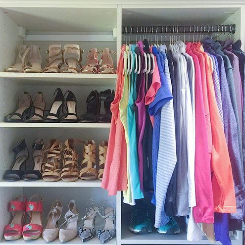 Space Lift: HER Closet
