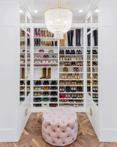 Space Lift: Her Custom Closet