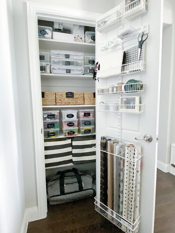 Craft Closet Transformation