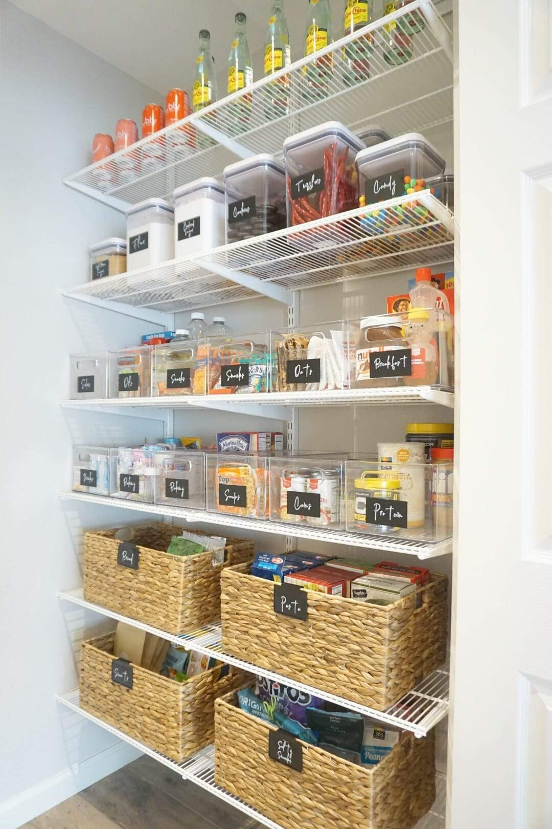 Space Lift Pantry Transformation Neat Method