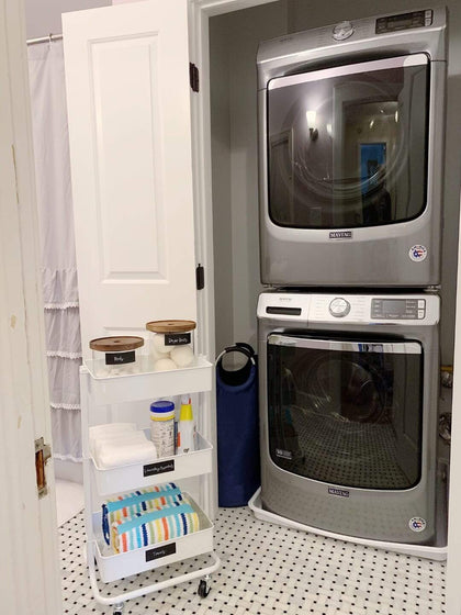 Laundry Closet Transformation with Maytag