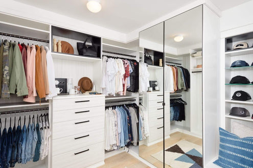 Space Lift: Molly's Master Closet