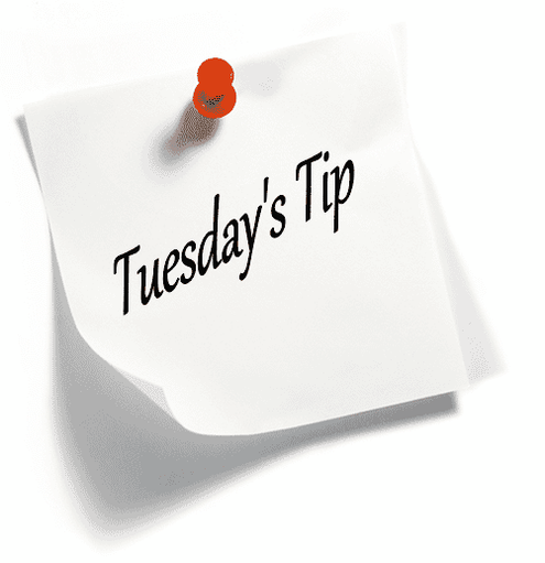 ANNOUNCING Tip Tuesday