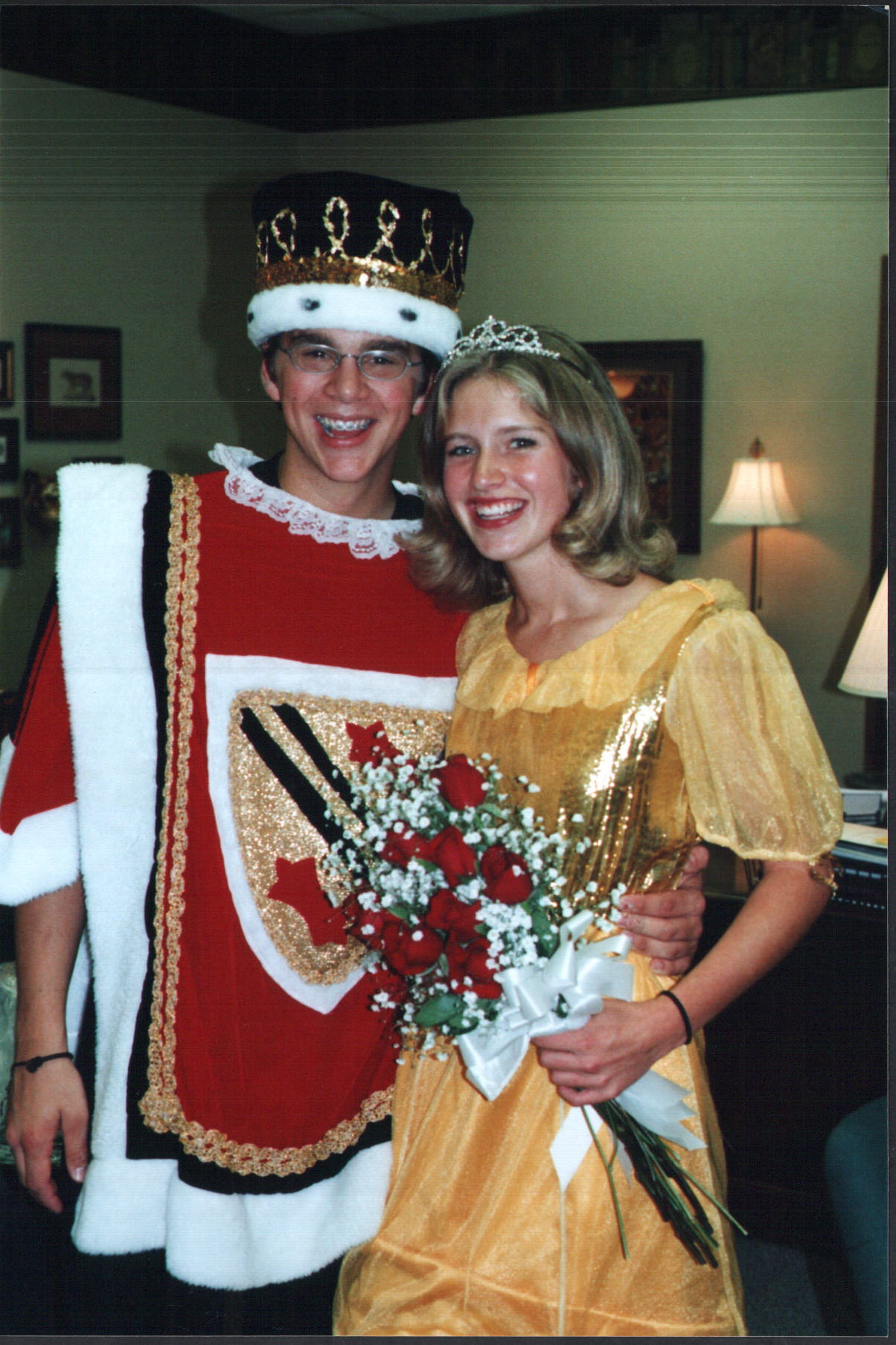 Homecoming, Wheaton Warrenville South, Molly Heffinger, Ross Cheairs,