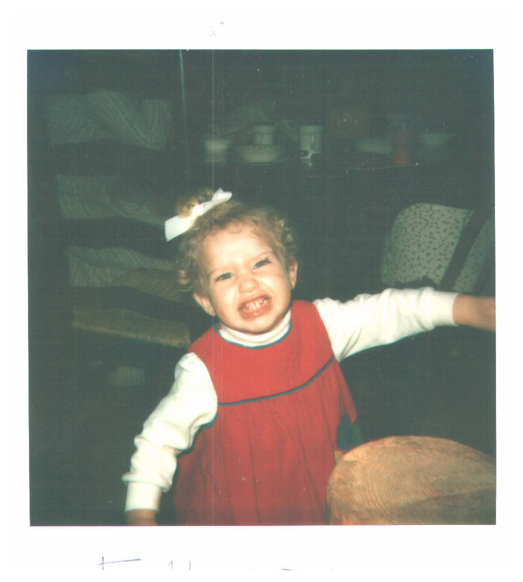 Happy baby, Molly Heffinger, Molly Graves, Red Dress