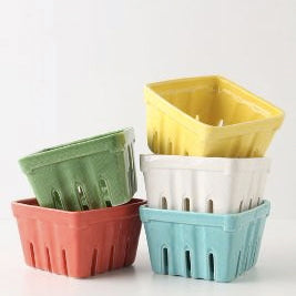 Ceramic Berry holder, Kitchen organization, organizing tips, refrigerator
