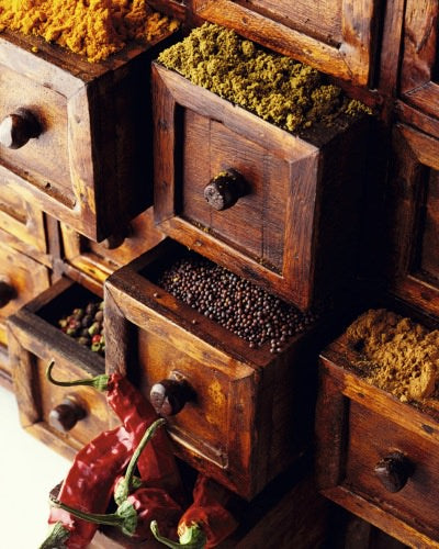 spice rack, spice organizer, organized kitchen, kitchen organization, organizing tips, recipe box, spice box