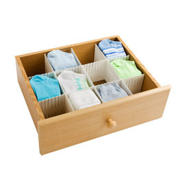 Drawer inserts, organized drawer, NEAT Method