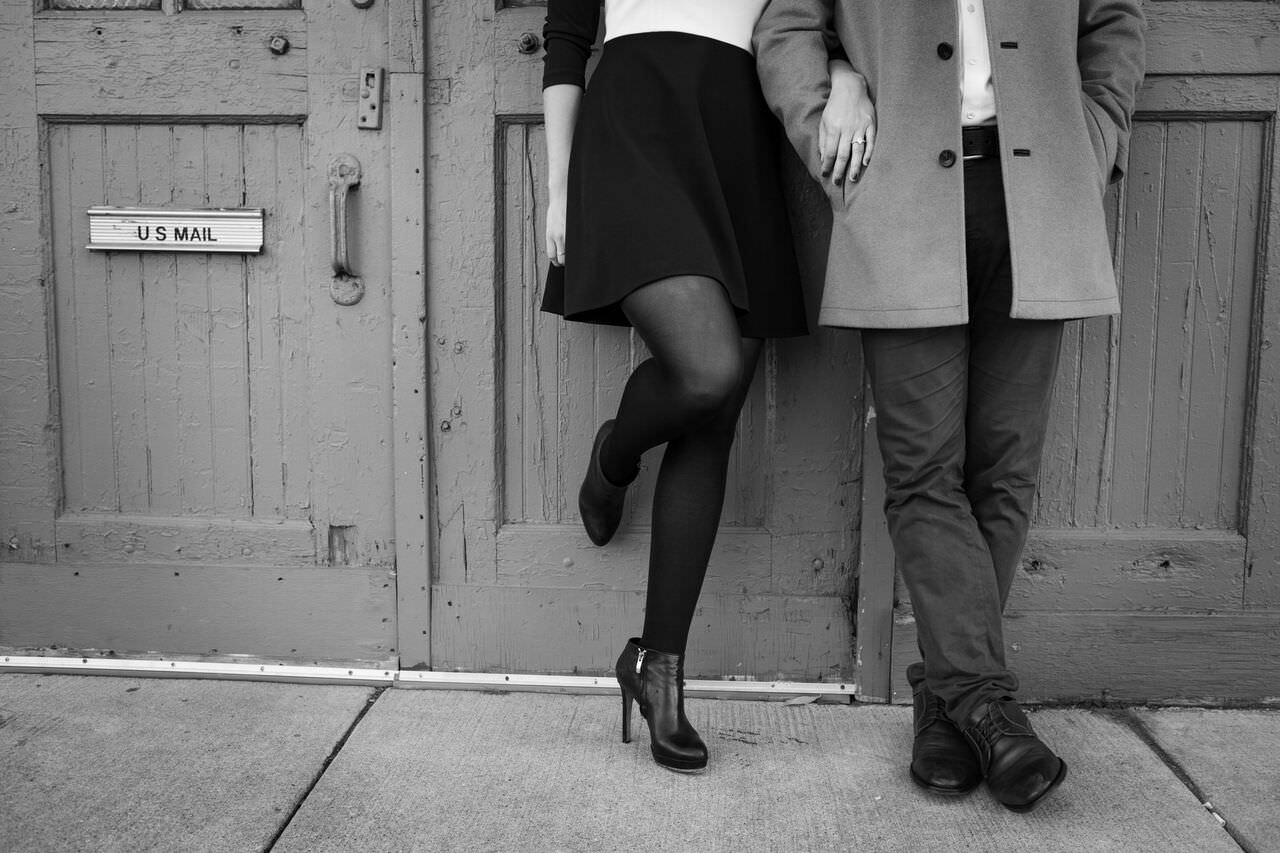 Brooke Ruder, Andrew Nieman, CoChic Styling, Chicago Stylist, Engagement Shoot