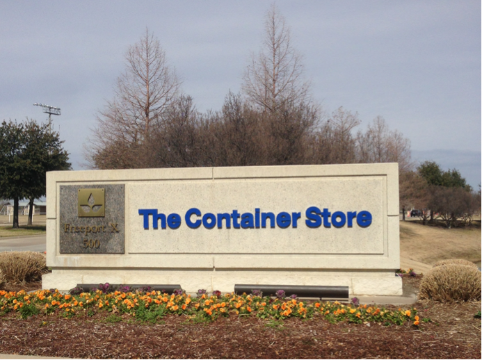 Container Store, The Container Store, Corporate, TCS, Container Store Corporate, sign, offices, texas