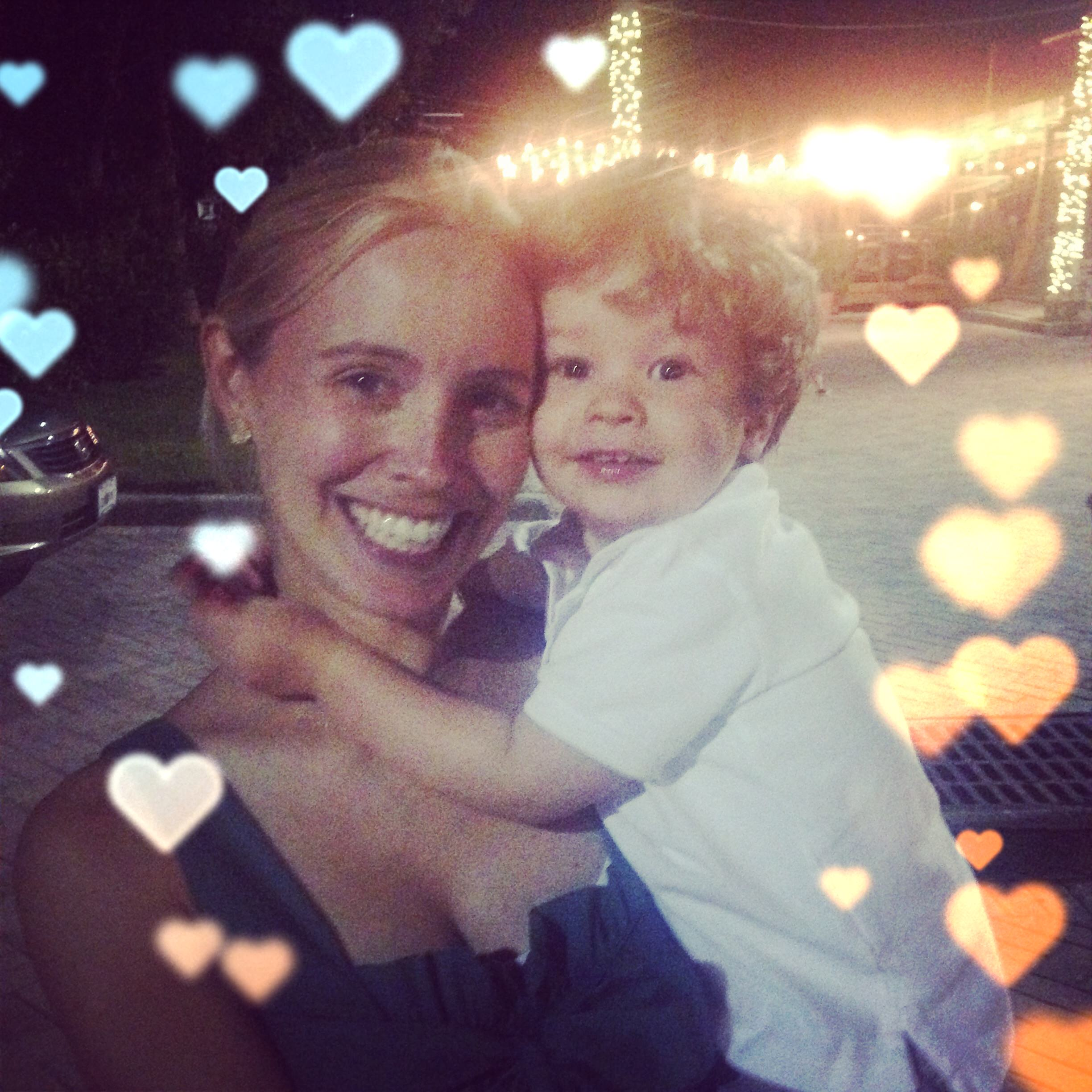 Ashley Murphy, Ben Murphy, mother son, Chicago, Valentines day, professional organizer, business woman, mother,