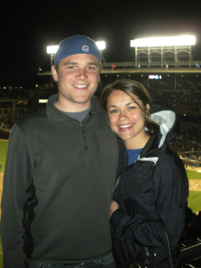 Alex Hagmeyer, Marissa Hagmeyer, sports, Chicago, Couple, happy couple, married