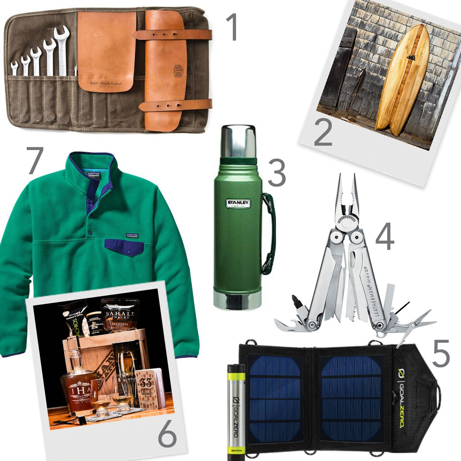 Fathers Day, Gift Guide, gift ideas, ryan graves, uber, patagonia, Deus, mancrates, leatherman, goal zero, grain surfboards, dads, ideas, gifts, stanley