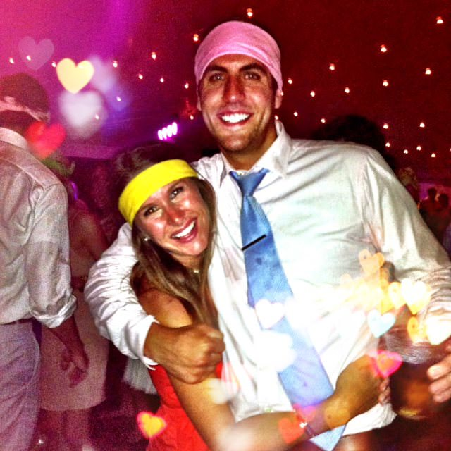 Hillary Weidner, Hillary Kelly, Jordan Weidner, couple, club, lasers in club, party people
