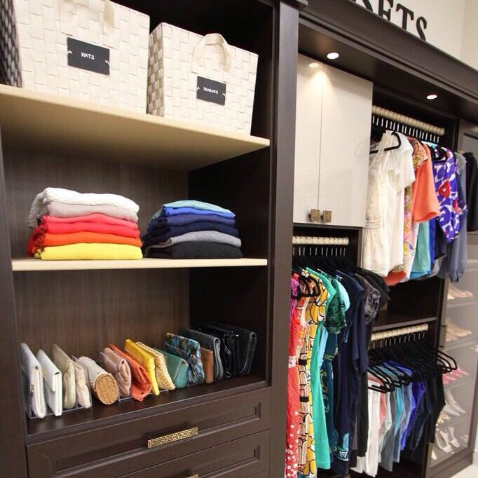 women's closet, dream closet, dream space, organizing, organizer, professional organizer, closet organization, consignment, how to consign clothes, donating, donating clothes, NEAT, DIY, rainbow