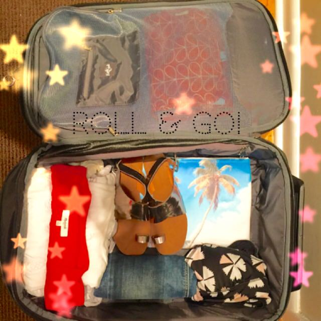 packing, travel tips, travel items, suitcase, cosmetics, toiletries, space saving packing, travel, travel size, organize, home organizer, home organizing, professional organizer,
