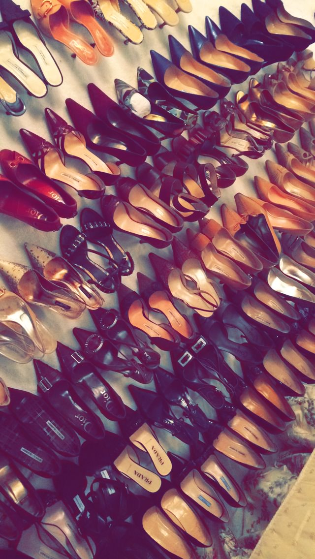 shoes, shoe collection, shoe envy, shoe hoarder, lots of shoes, women's shoes, designer shoes