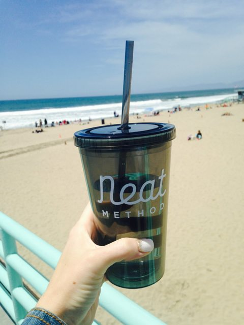 Katie B Koentje, San Diego, organizing tips, organizer in san diego, professional organizer in san diego, southern california, southern california beach, california beach, neat method, neat method cup, plastic cups, plastic cup with lid and straw