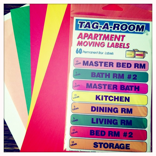 moving stickers, moving tips, moving organization, movers
