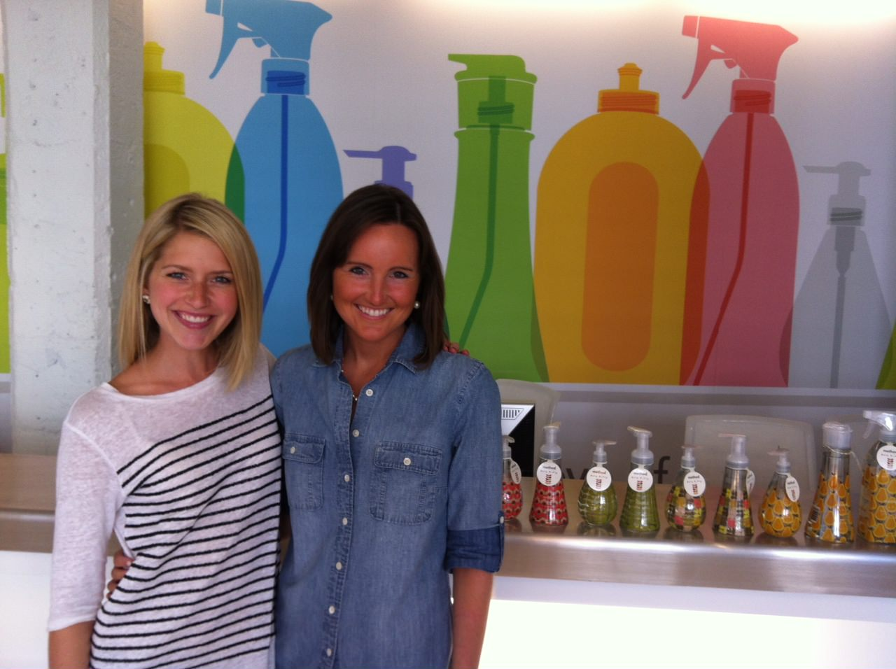 Molly Graves, Molly Heffinger, Heather Byrne, Heather Gilligan, Neat Method, Method, Method Cleaning Supplies, Start up, San Francisco, San Francisco office, Start up office