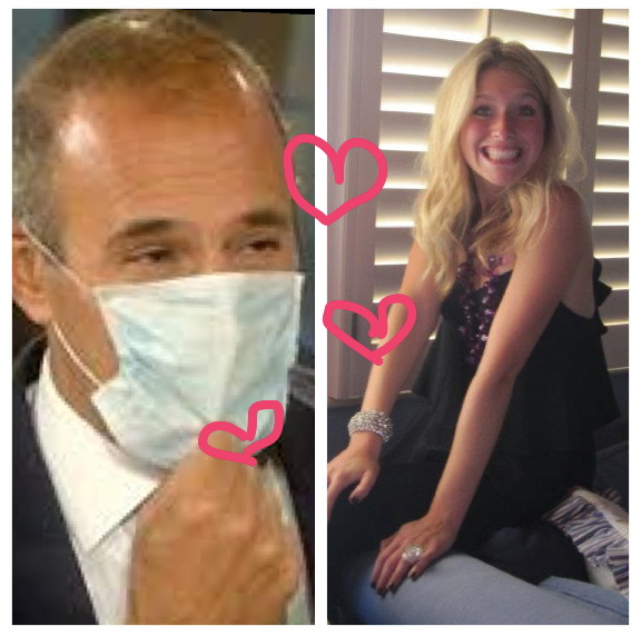 Molly Graves, NEAT Method, Today Show, Matt Lauer, Valentines Day, Crushes