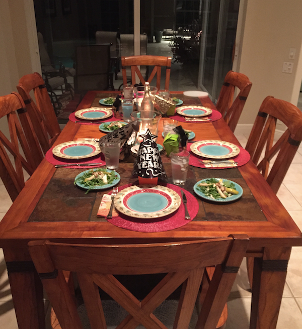 Ft. Lauderdale, South Florida, Miami, Marissa Crylen, Marissa Hagmeyer, setting the table, table setting, holiday decor, New Years, hosting, party planning, food, cooking,