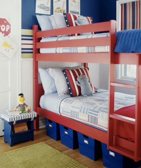 bunk beds, kids rooms, gender neutral room, organizing, home organizing, home style, decor, decorating, home design, interior design