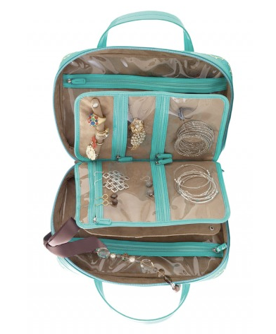 jewelry organizer, jewelry case, traveling with jewelry