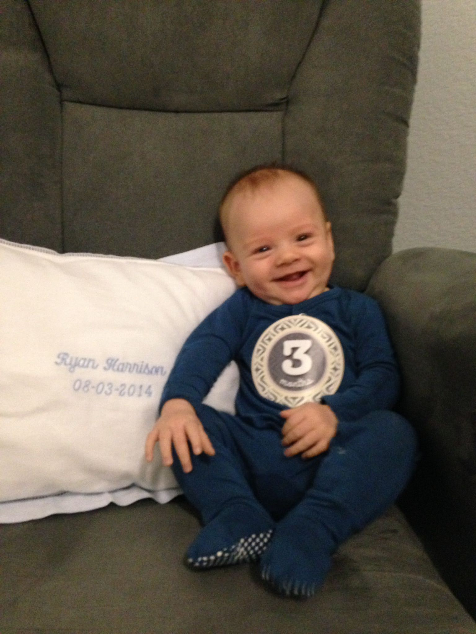 katie Koentje, neat method, neat san diego, cute baby boy, baby boy 3 months, 3 month old baby