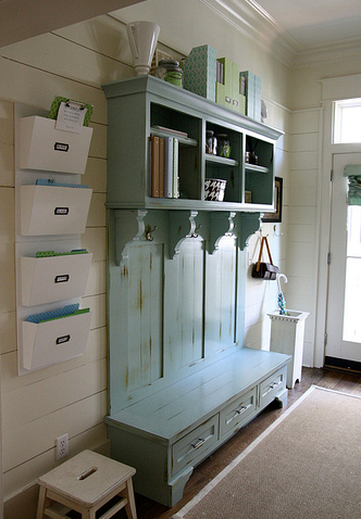Mudroom mail center, mudroom, organized home, home decor