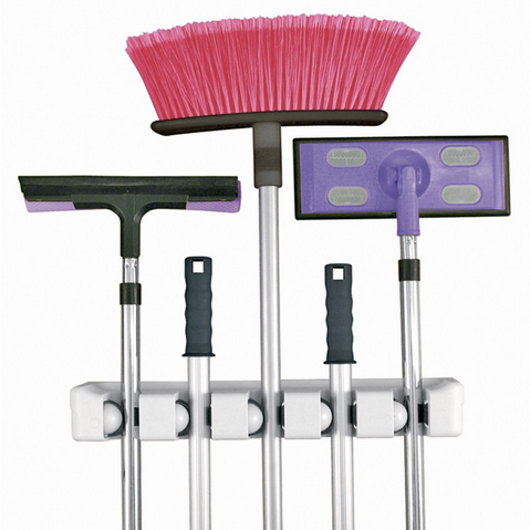 evirholder magic holder, broom storage, cleaning supply storage