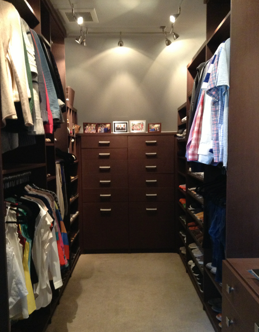 San Francisco, Noe Valley, Organized closet, organized home, luxury closet, color coded space, professional organizer, organizer