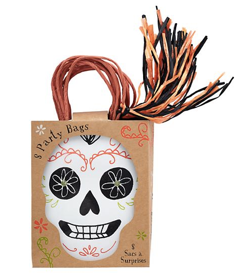 Professional organizer, San Diego, San Francisco, Chicago, Washington DC, Twin Cities, South Florida, skulls, treat bag, black and orange, halloween, halloween candy, trick or treat