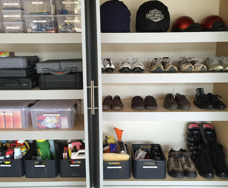 Scottsdale, Phoenix, Arizona, professional organizer, garage, organization, clean garage, organized garage