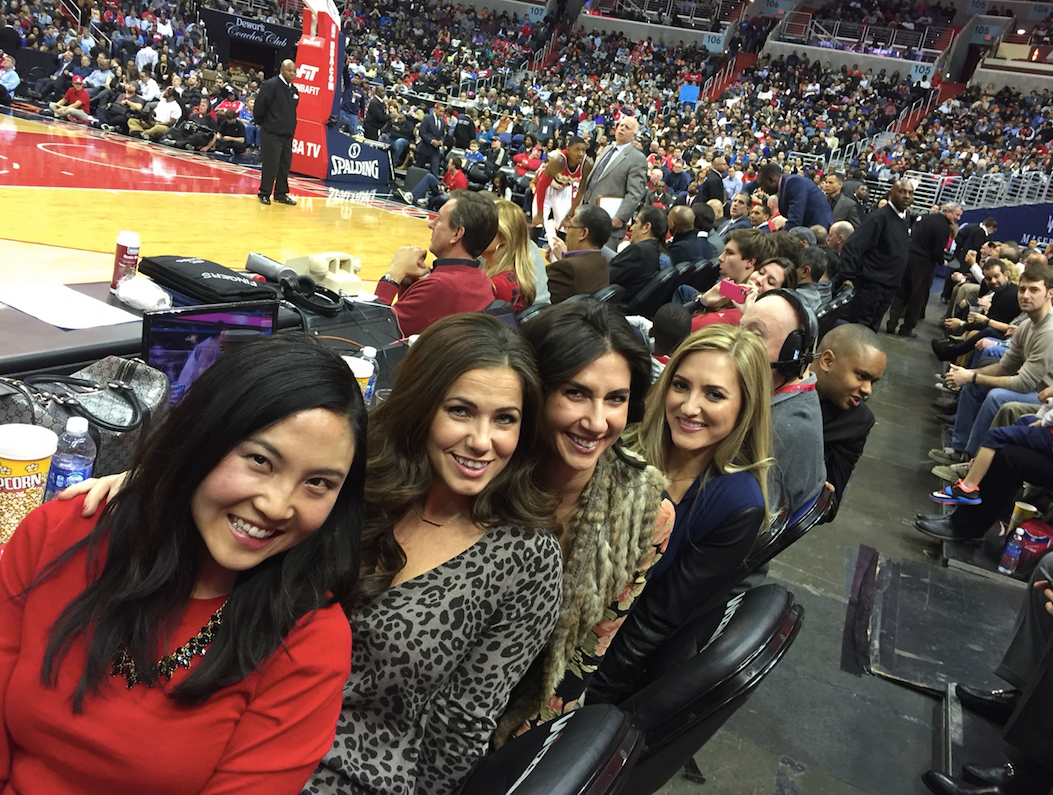 Catherine Savage, Catherine Zinn, NBA, Floor Seats, Washington DC, Basketball, girls, cute girls. trophy wives