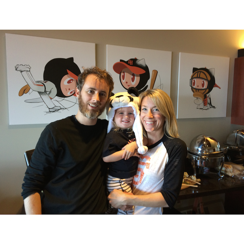 San Francisco, Giants, family, baby, baseball, organizing, professional organizer, Lisa Ruff