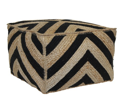 pouf, target, cheap pouf, inexpensive pouf, chevron pouf, home style, home design, home decor