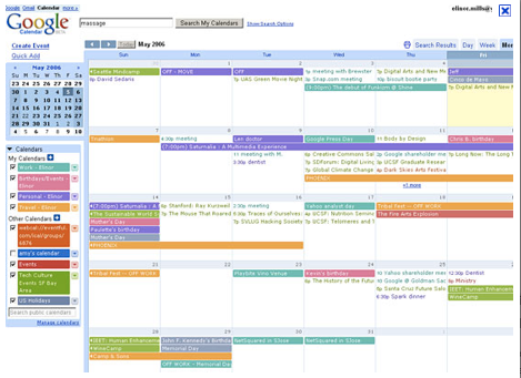 google calendar, NEAT Method, Schedule, Organized