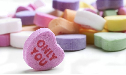 Candy Hearts, Conversation hearts, Valentines Day
