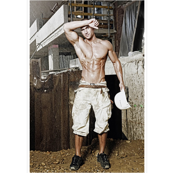 hot construction worker, construction worker, sexy construction worker, sexy man, boyfriend, hot model