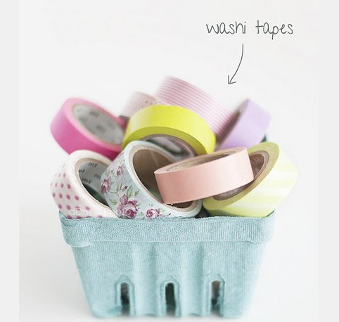 washi tape, pretty washi tape, washi tape diy, organize with washi tape