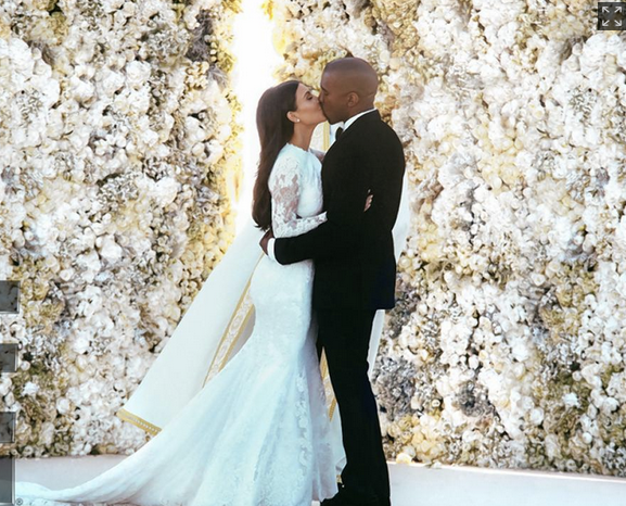 kimye, kim kardashian, kayne west, kim kardashian wedding, kim kardashian kayne west wedding, kim kardashian wedding dress, e news, kim k, kimye wedding, baby north, baby north west, wedding, celebrity wedding, celebrity bride