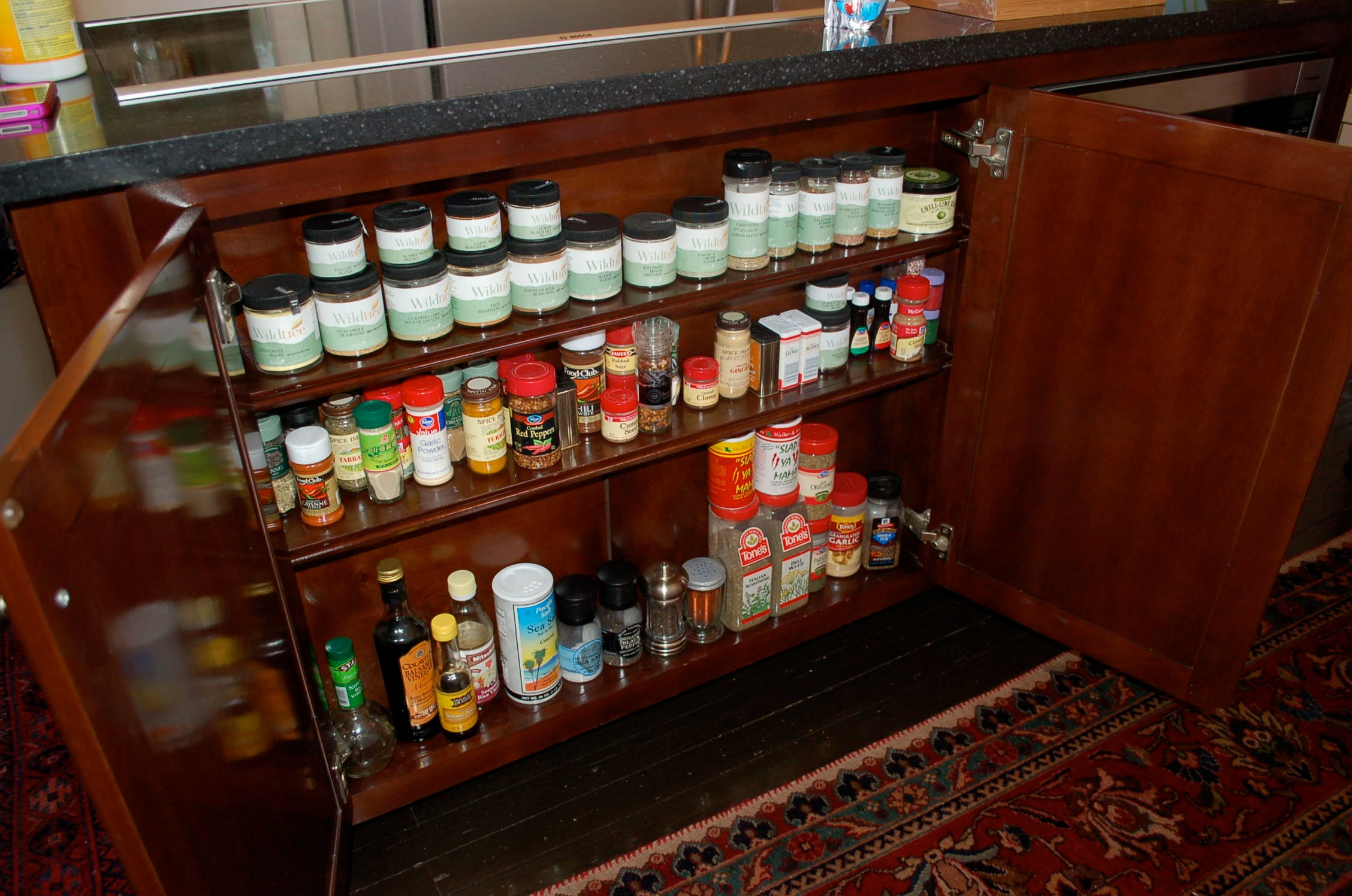 organizing tips, spice racks, tiered spice rack, organized