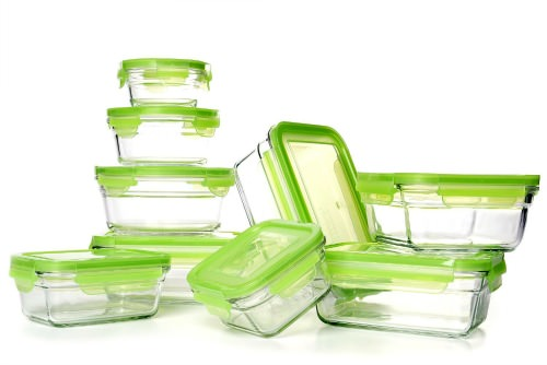 glass tupperware, snapware, food storage, glass food storage, glass bins