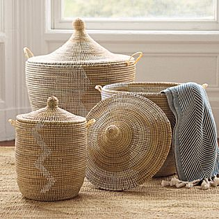 Serena and Lily, organizing, baskets, storage, storage solutions, modern, home decor, decorating